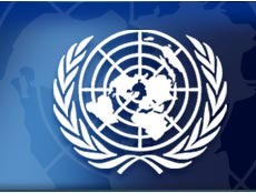 LOGOMARCA DA ONU.