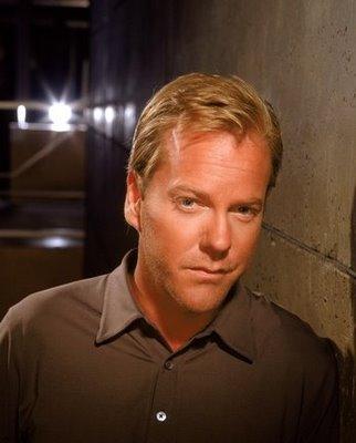 """Kiefer Sutherland: Jack Bauer da série de TV """"24 horas"""""""