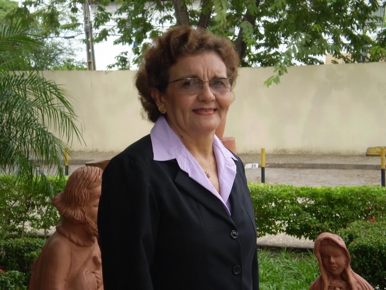 Ivonete: muitos anos servindo ao Reino como missionária.