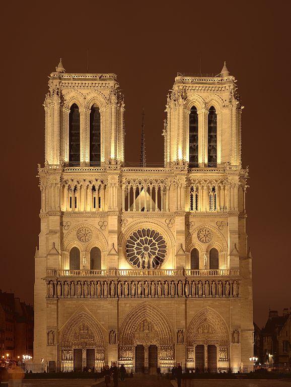 (Foto: Nicolas Sanchez) Catedral de Notre Dame, Paris.