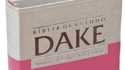 Bíblia de Estudo Dake: uma bíblia pra não se ter emcasa