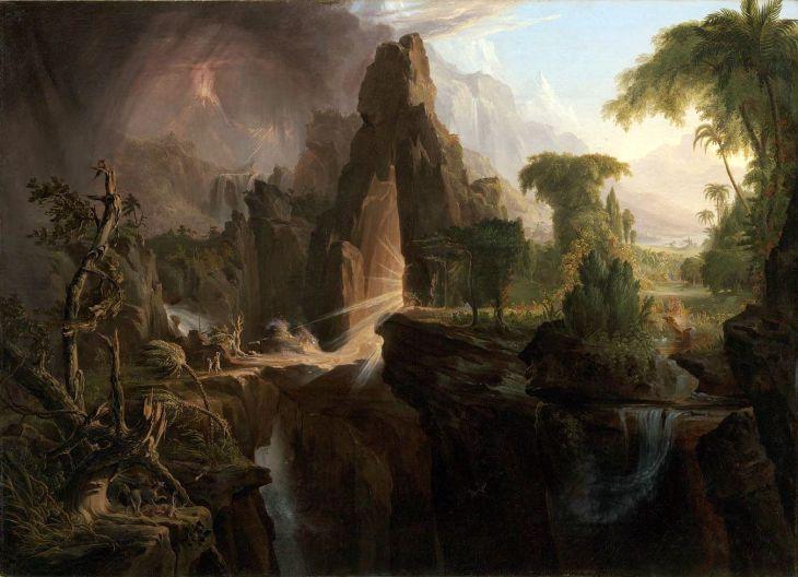Expulsion from the Garden of Eden (Thomas Cole)