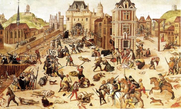 Massacre do Dia de São Bartolomeu (François Dubois)