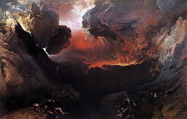 O Grande Dia de Sua Ira [The Great Day of His Wrath (John Martin)]