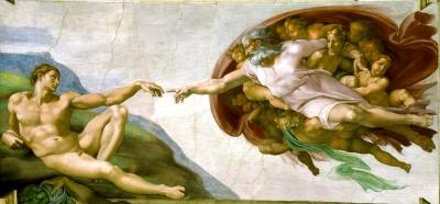 A Criação de Adão (Michelangelo Buonarroti)