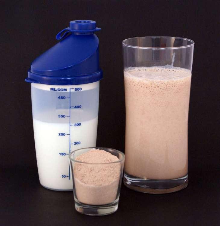 Shake de Whey Protein: forma de consumo mais comum.