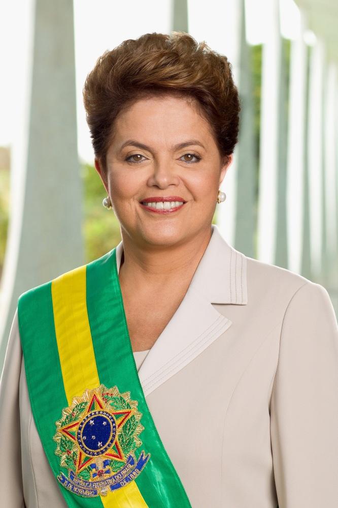 Foto Oficial da Presidente da República, Dilma Rousseff