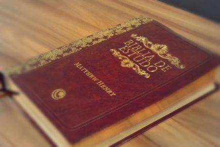 Bíblia de Estudo Matthew Henry: que bíblia éessa?