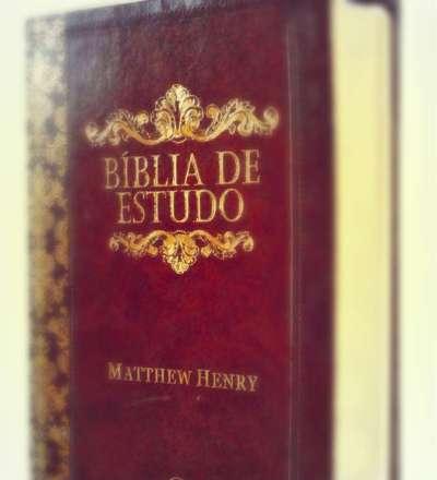 Bíblia de Estudo Matthew Henry - Imagem 03 - INFOSOL.ME