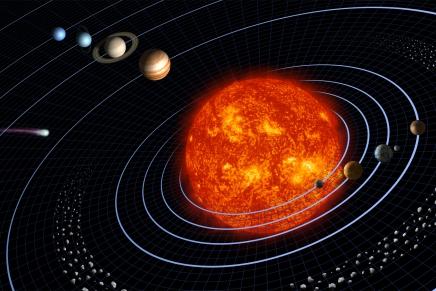Veja como é atravessar o Sistema Solar na velocidade daluz