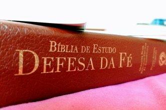 Imagem Bíblia de Estudo DEFESA DA FÉ.