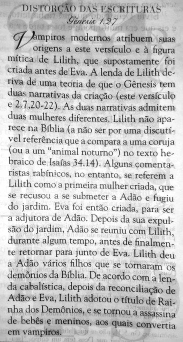 Nota sobre distorção em Gênesis 1:27