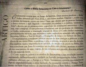 A Bíblia e o Islamismo