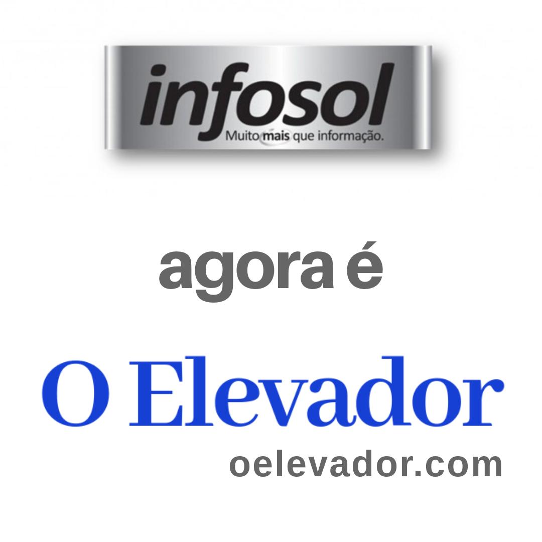 Anúncio da mudança de nome do infosol para O Elevador